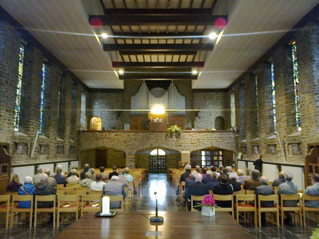 Concert d'orgue par l'OrgueStudio de l'IMEP - 31 Mai 2015 - Nalinnes-Haies