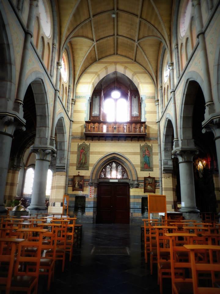 Vue générale vers l'orgue (Photo: P. Van Temsche)
