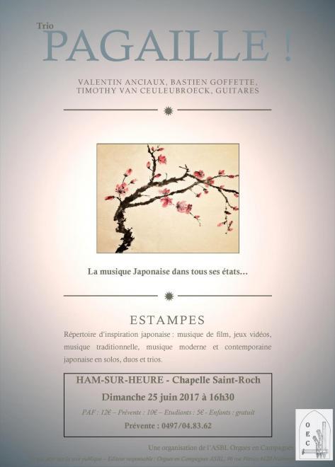 Affiche concert Ham-sur-Heure 25-06-2017