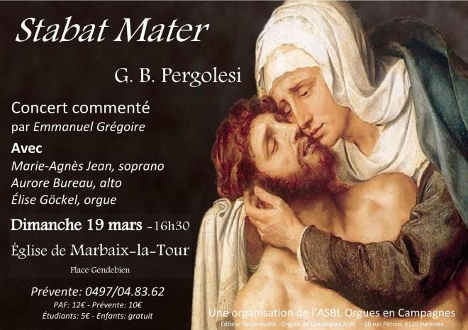 Affiche concert Marbaix
